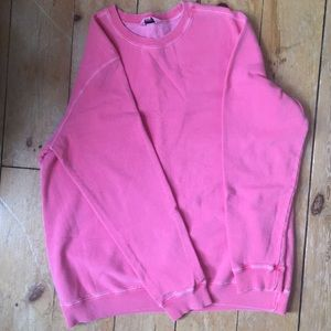 VINTAGE Northern Reflections pink crew sweatshirt
